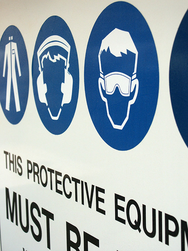 Icons of protective equipment