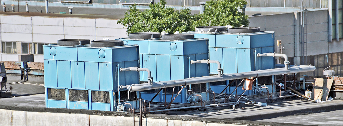 Air Conditioning Unit on Roof