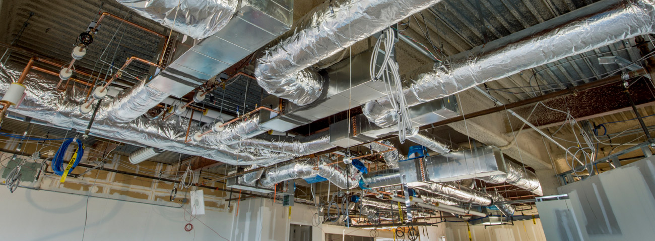Insulated Air Duct Installation
