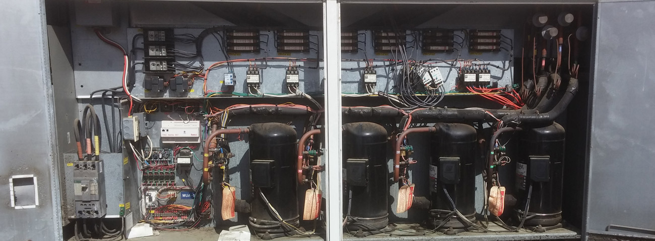Electrical System Inside the AC Unit